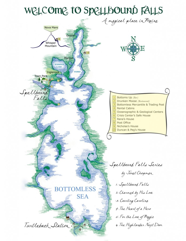 Map of Bottomless Sea
