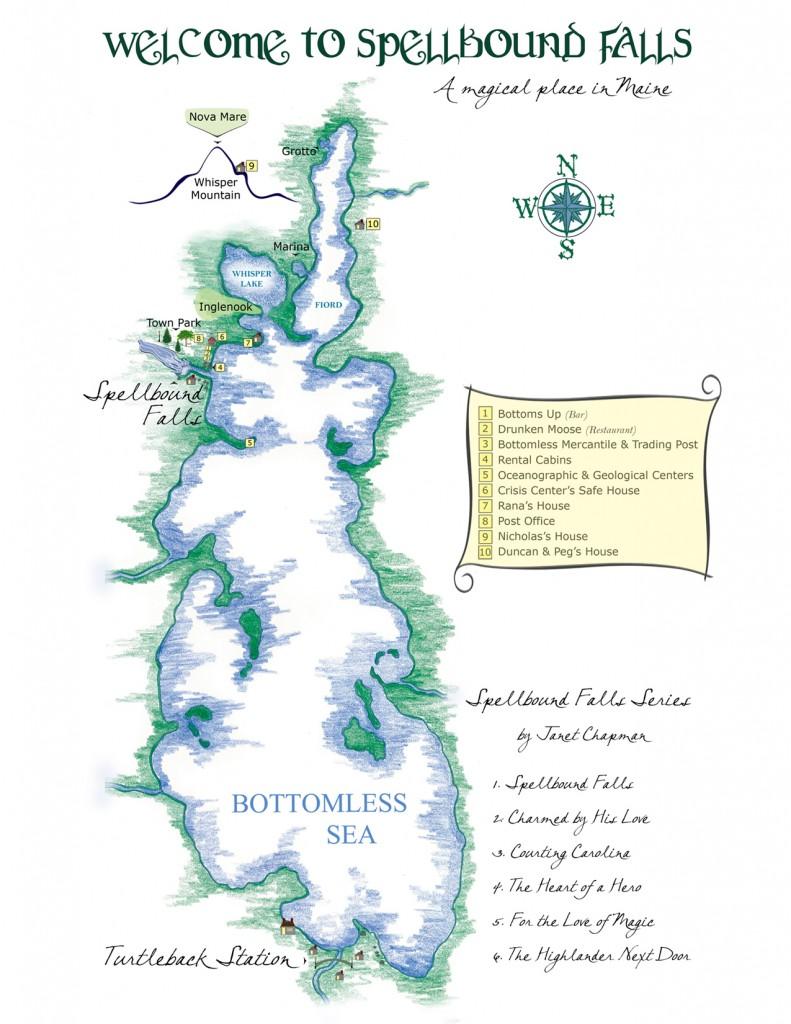 Map of Bottomless Sea
